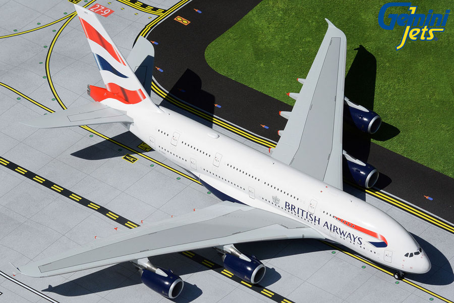 British Airways A380 G-XLEC (1:200)