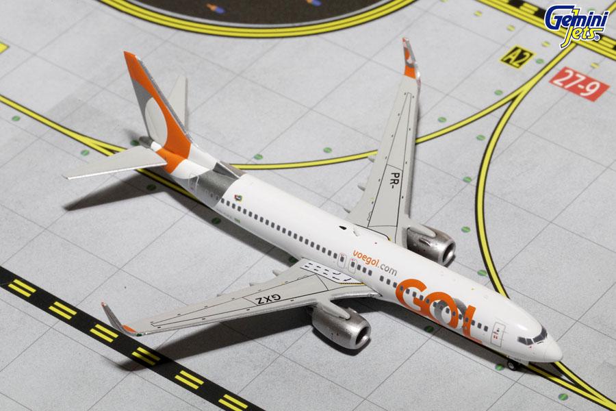 1:400 Scale Airplane Model New Livery GeminiJets GOL B737-800W