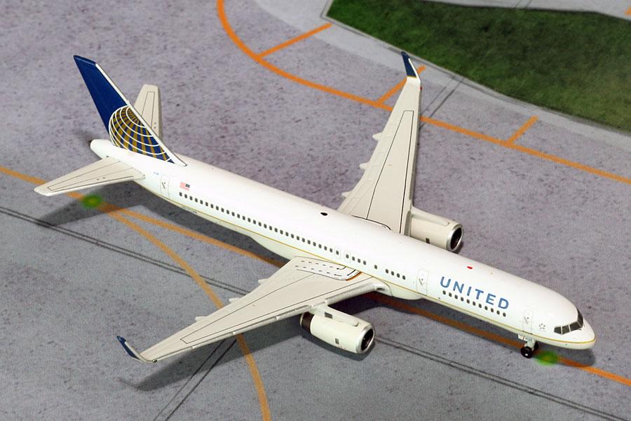 NG model 1//400 United Airlines Boeing 757-200 N17128 die cast metal miniature