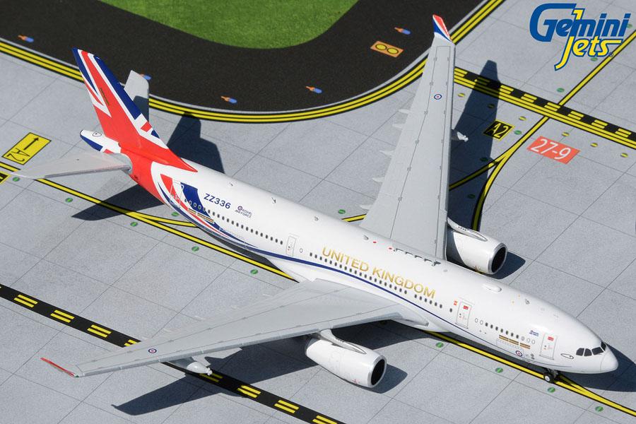 "Royal Air Force A330 MRTT KC-3 Voyager ZZ336 ""United Kingdom"" (1:400)"