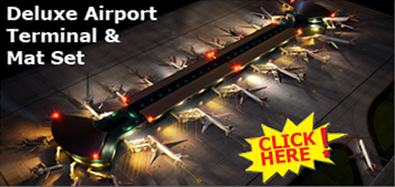 GeminiJets Airport Terminal and Mat Graphic
